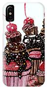Yum Candy Cupcake IPhone Case