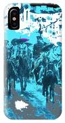 Zapata And Villa At Head Of Convencionista Army Mexico City December 6 1914-2013 IPhone Case