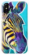 Zebra - Sunrise IPhone Case
