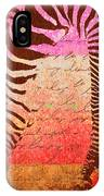 Zebra Art - T1cv2blinb IPhone Case