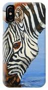 Zebra Drink IPhone Case