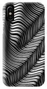Zebra Folds IPhone Case