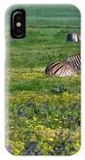 Zebra Heaven.. IPhone Case
