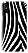 Zebra Hide IPhone Case