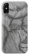 Zebra Line IPhone Case