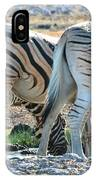 Zebra Lineup IPhone Case