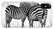 Zebra Love IPhone Case