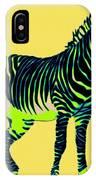 Zebra Pop Art IPhone Case