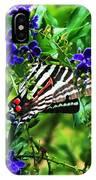 Zebra Swallowtail IPhone Case