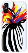 Zebra Vase IPhone Case