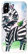 Zebra Zee  IPhone Case