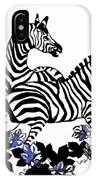 Zebras At Play IPhone Case