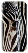 Zebras Face To Face IPhone Case