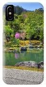Zen And A Pond IPhone Case