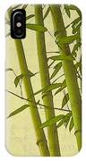 Zen Bamboo Abstract I IPhone Case