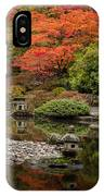 Zen Foliage Colors IPhone Case