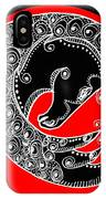 Zen Horse Black IPhone Case