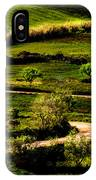 Zigzags Of A Path IPhone Case