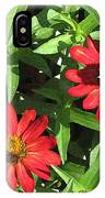 Zinnia Gardens-1 IPhone Case