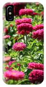 Zinnia Palooza IPhone Case
