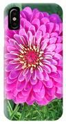 Zinnia - Pink IPhone Case