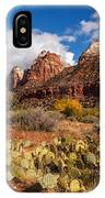 Zion Canyon IPhone Case