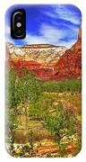 Zion Park Canyon IPhone Case