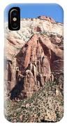 Zion Park Mountainscape IPhone Case
