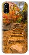 Zion Staircase IPhone Case