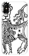 Zodiac Leo, 1482 IPhone Case