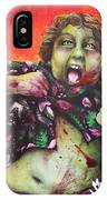 Zombie Chunk IPhone Case