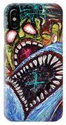 Zombie Shark Fight IPhone Case