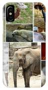 Zoo Collage IPhone Case