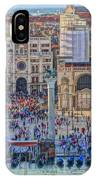 Zoom On St Marks Square Venice Italy IPhone Case