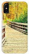 Zoom Zoom Walking Path IPhone Case