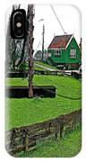 Zuiderzee Open Air Musuem In Enkhuizen-netherlands IPhone Case