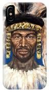 Zulu Warrior IPhone Case