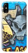 Abstract Permission Graffiti Wall IPhone Case