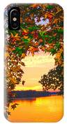 Autumn Leaves A View IPhone Case