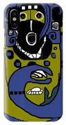 Blue Kachina IPhone Case