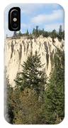 Canadian Rocky Mountain Hoodoos Bc IPhone Case