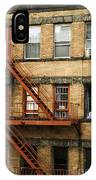 Fire Escapes - Nyc IPhone Case
