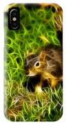 - Fractal - Pointer - Robbie The Squirrel IPhone Case