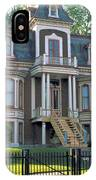 Gracious Victorian House In Montreal IPhone Case