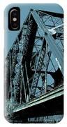 Mississippi River Rr Bridge At Memphis IPhone Case