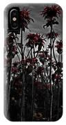 Mono Flowers IPhone Case