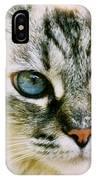 Pretty Blue Eyes--mia IPhone Case