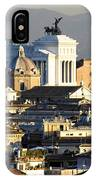 Rome's Rooftops IPhone Case
