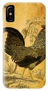 Thanksgiving Rooster IPhone Case