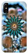 0001 Turquoise And Pearls IPhone Case